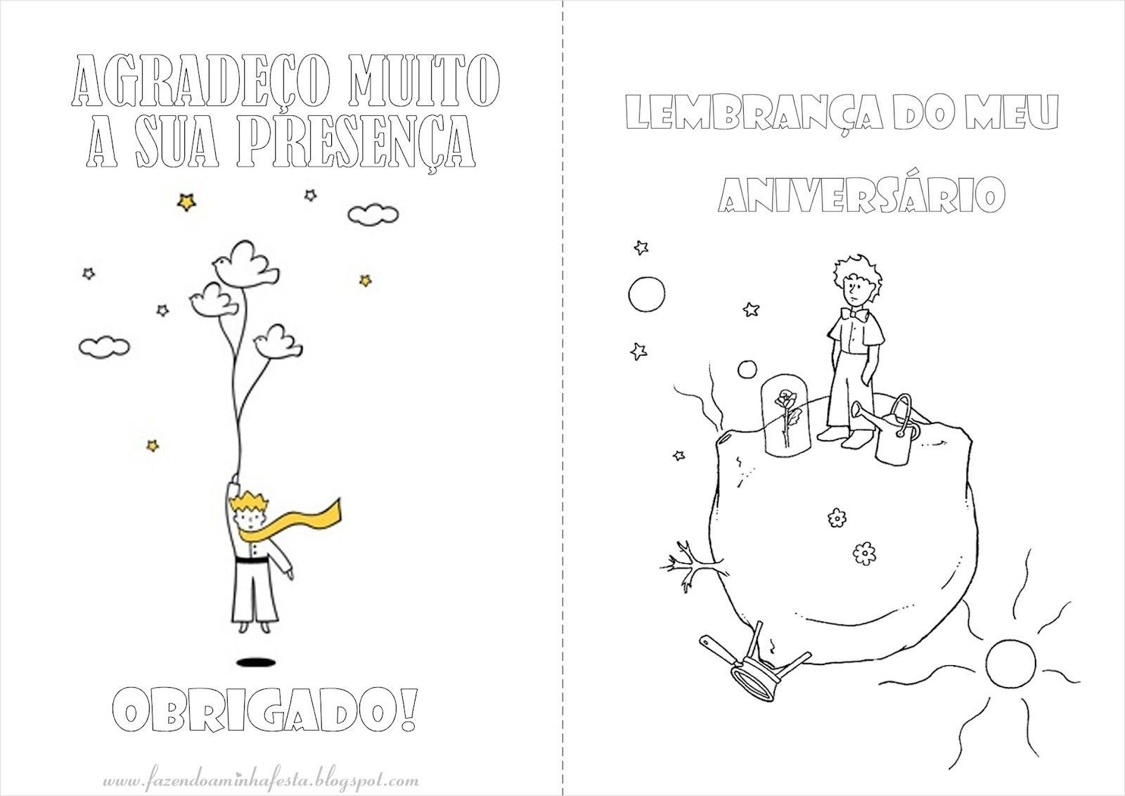 Livrinho de colorir com atividades - Lembrancinhas do tema O pequeno ...