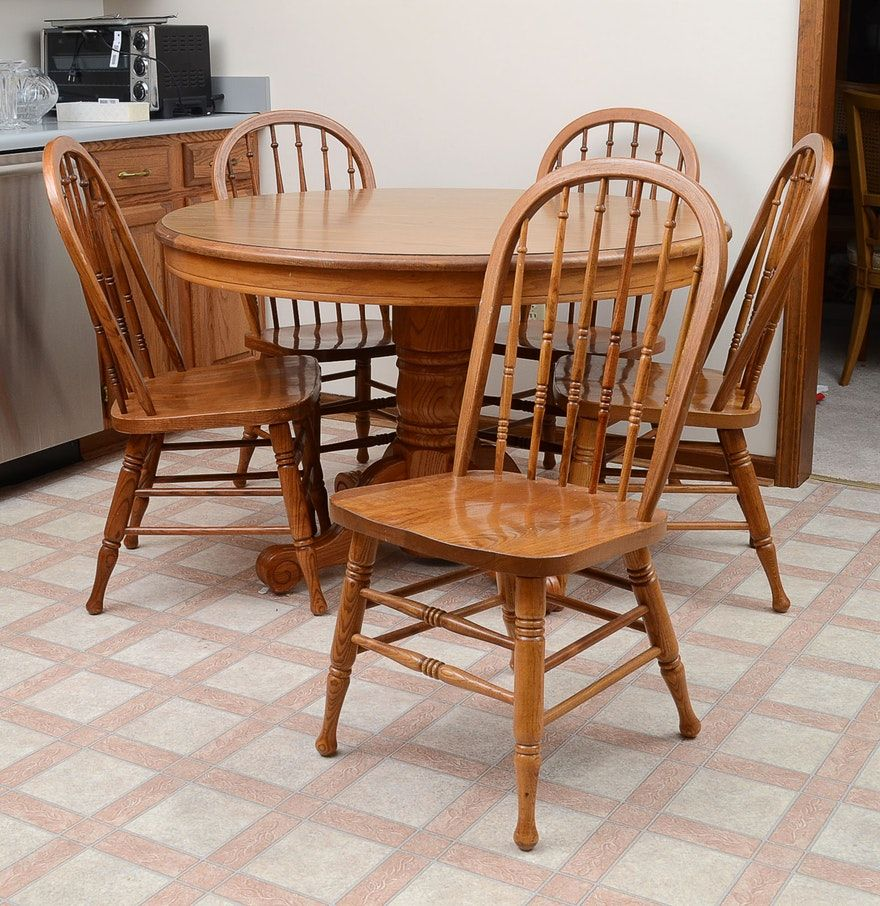 Kitchen Table And Chairs By Walter Of