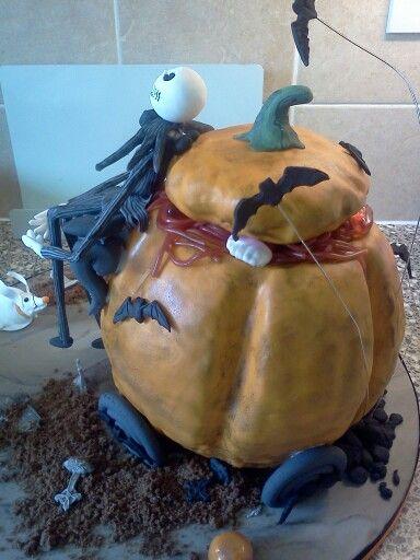 Pumpkin cake - Nightmare before Christmas nightmare before
