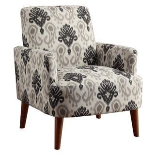 Groovy Furniture Of America Learine Contemporary Upholstered Floral Ncnpc Chair Design For Home Ncnpcorg