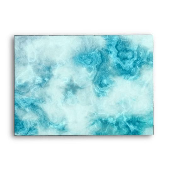 Blue Marble Beautiful Texture Pattern Art Envelope Available On Zazzle Com For 0 90 Mid Sized Invitation And Card Envelo Pattern Art Art Textures Patterns
