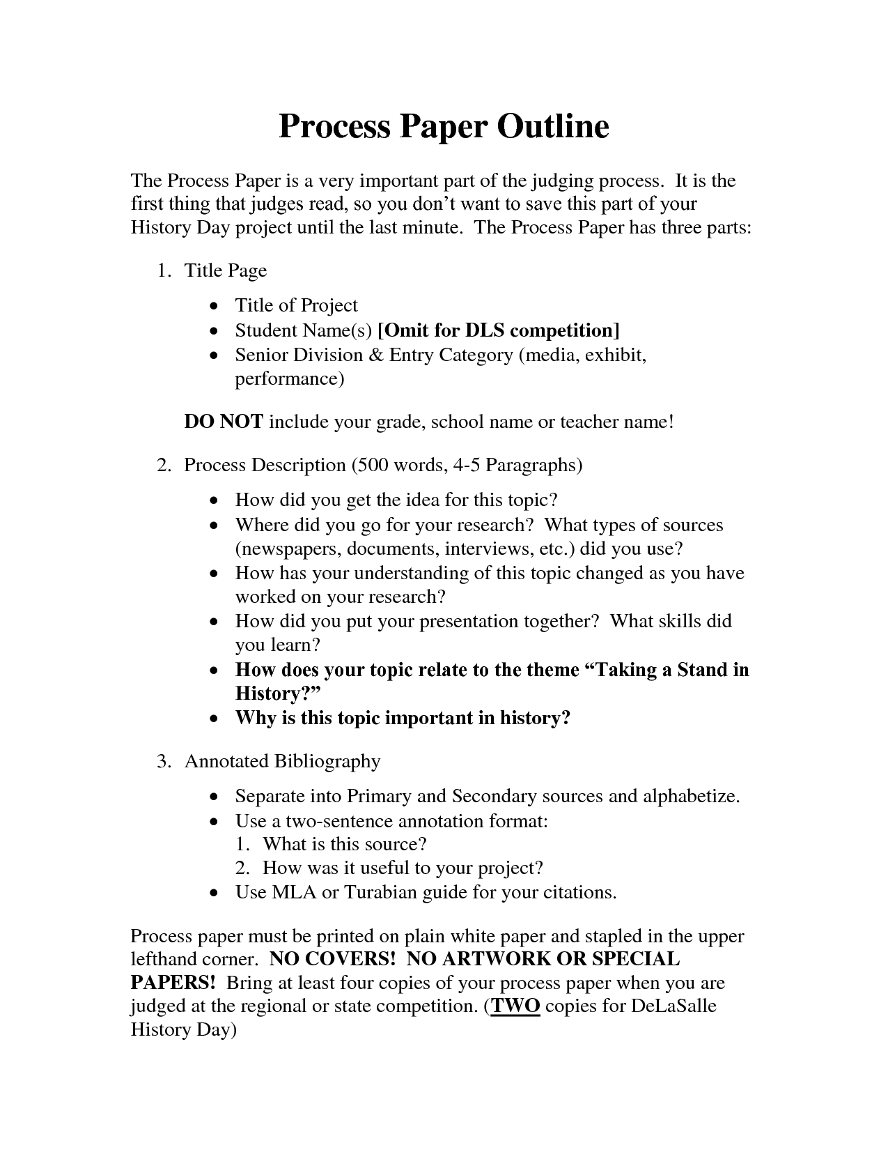 Process Essay Format  Elitamydearestco Best Photos Of Current Events Paper Outline Definition Essay Outline  Process  Essay Format