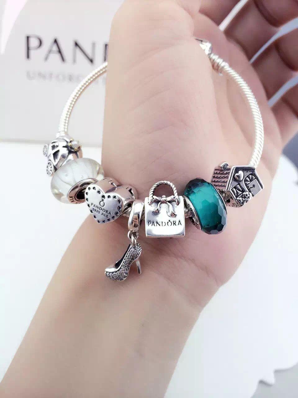 960cbedc147 Pandora Sterling Silver Charm Bracelet CB01559 - Pandora Online Shop ...