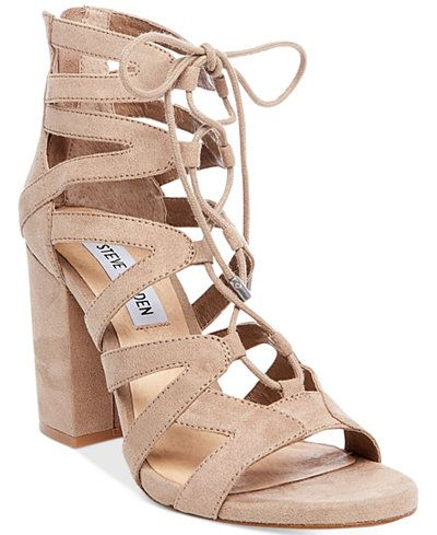 0579e7948d9 Steve Madden Women s Gal Lace-Up Sandals