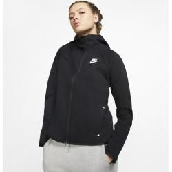 Photo of Nike Sportswear Windrunner Tech Fleece Hættetrøje til damer – sort Nike