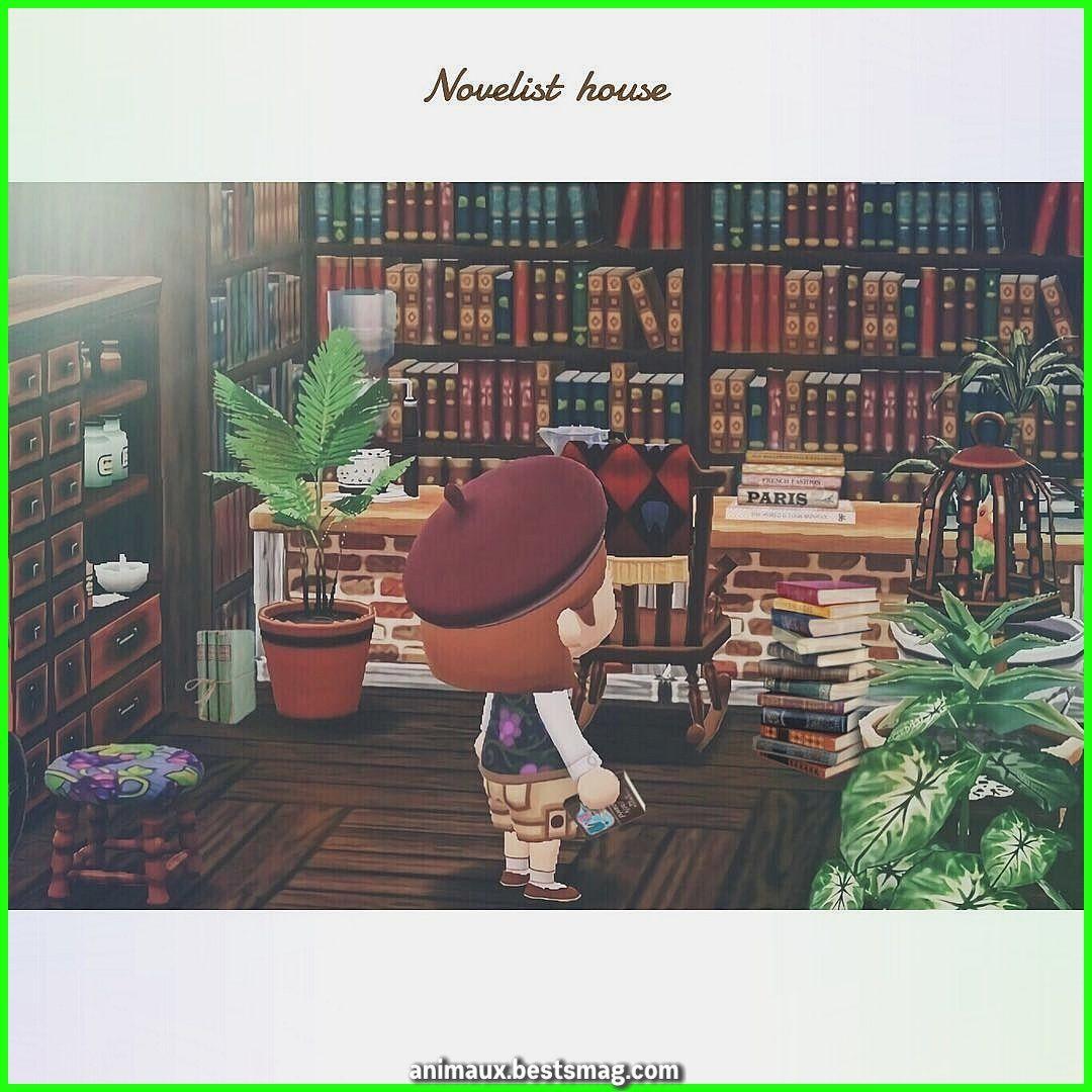 Sacoche Sur Instagram La Maison De L Ecrivain J Ai Cree Une Bibliotheque Basee Sur Le Livre Interieur L Passage D Animaux Instagram Animal Crossing Astuce