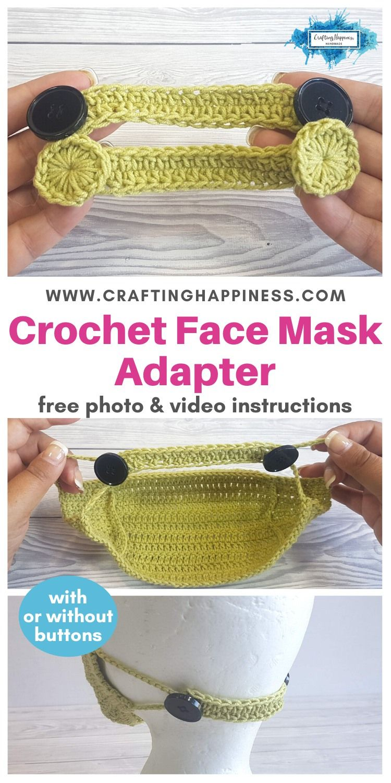 Pin On Crochet Ear Savers For Masks