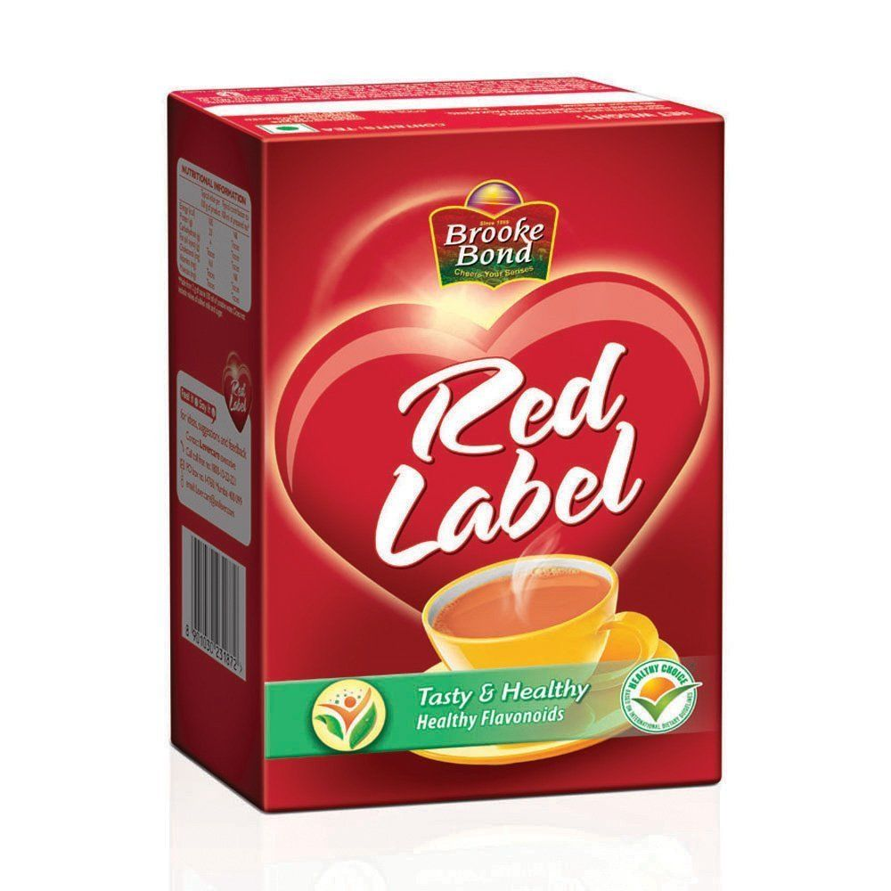 It's just a picture of Lively Caffeine in Red Label Tea