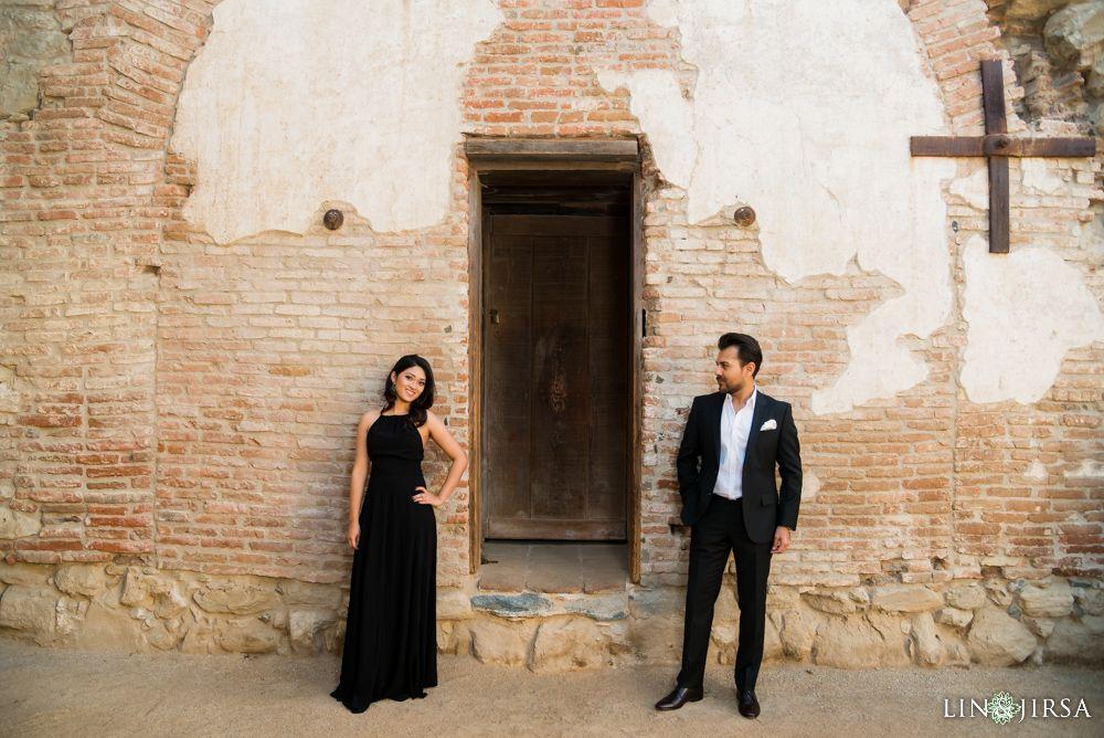 Mission San Juan Capistrano Engagement | Farhana & Avir