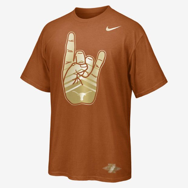 Nike Red River Rivalry Texas Men S T Shirt Hook Em Horns