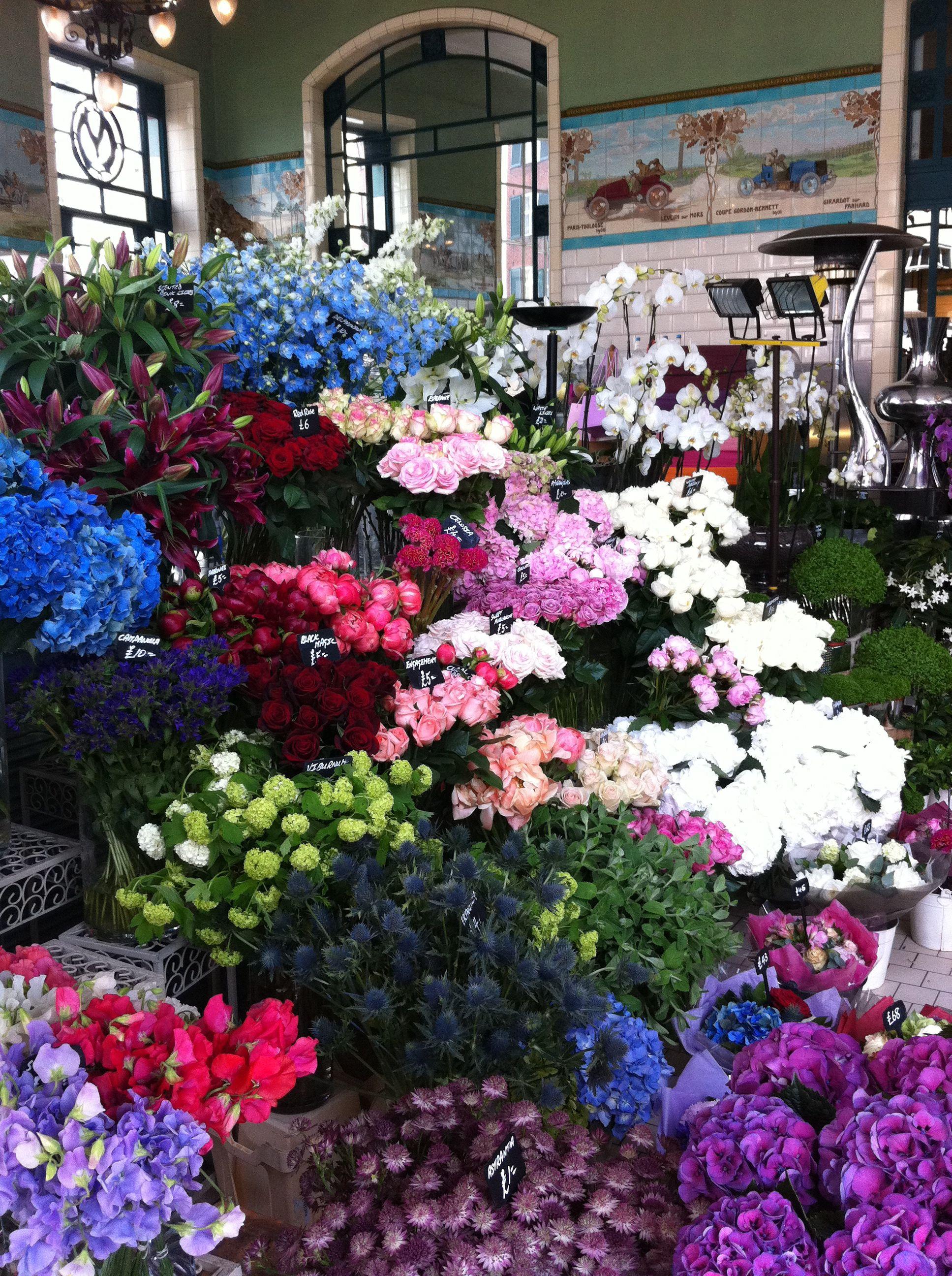 Flower Stall At Bibendum London Favorite Places Spaces