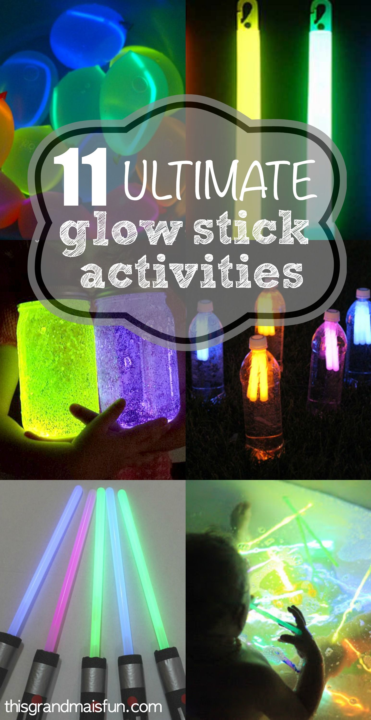 11 ultimate glow stick activities | party ideas and tips for easy