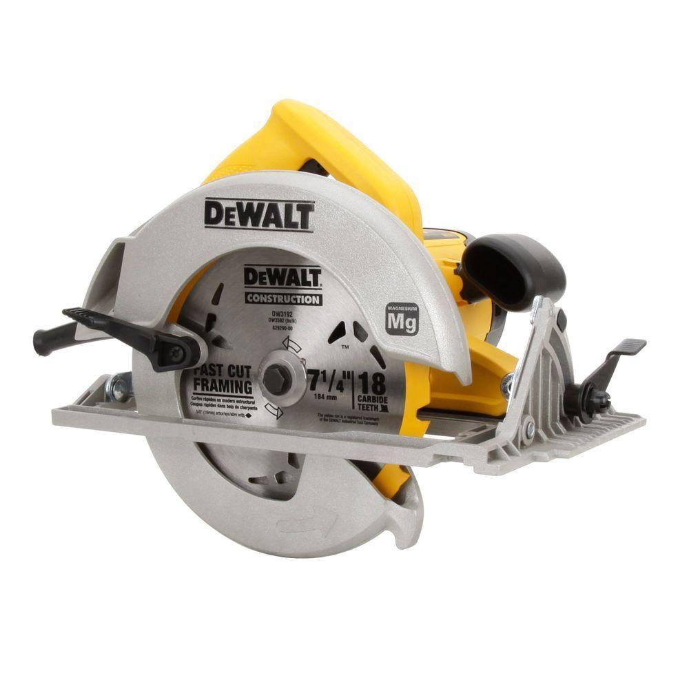 Dewalt 15 amp 714 in lightweight circular sawdwe575