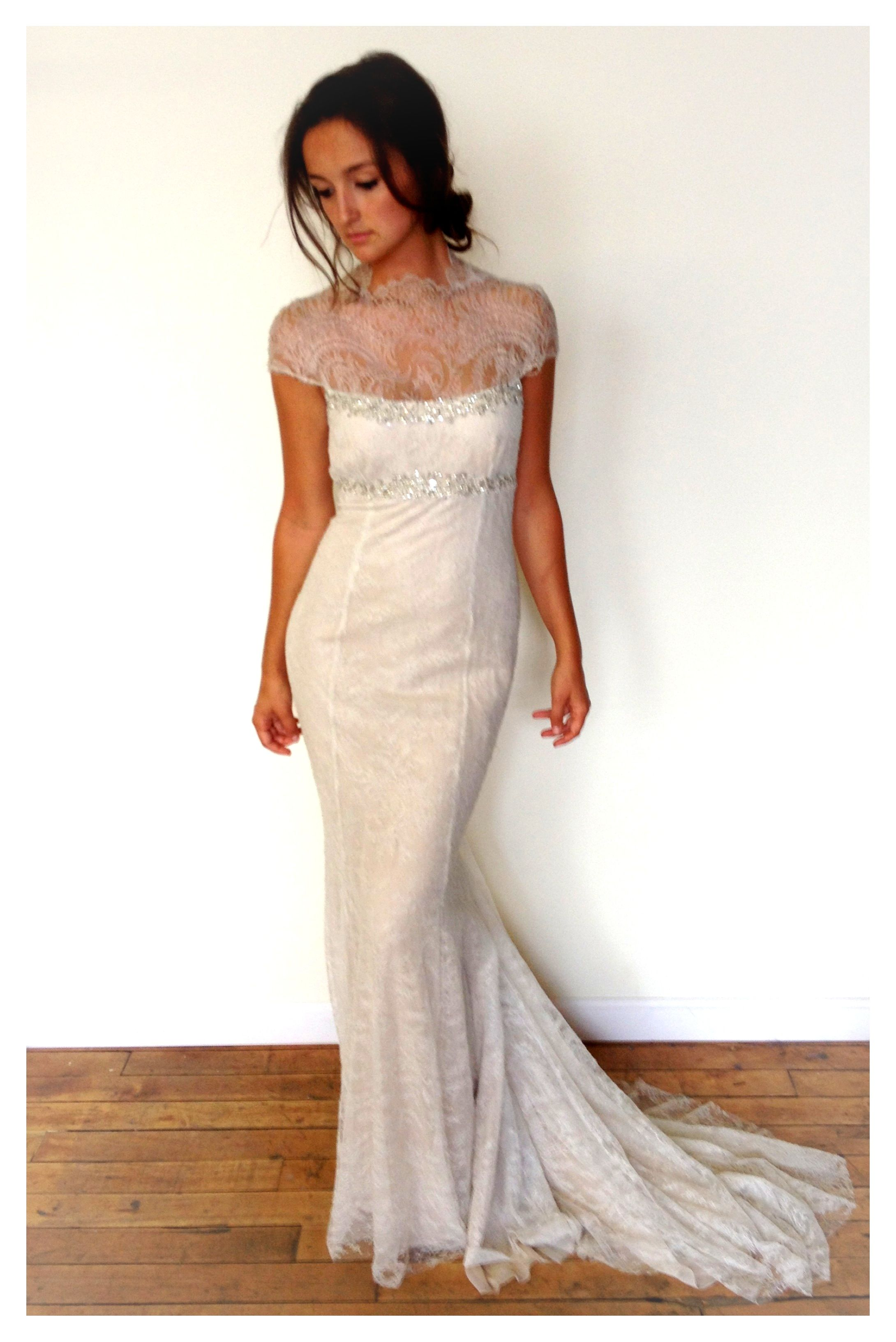 Nice Vera Wang Saks Fifth Avenue Sample Sale Size Wedding Dress u