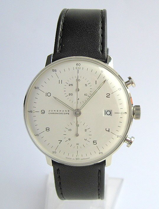 Max Bill Chronoscope by Junghans – Automatic Chronograph
