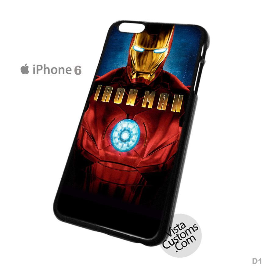 Iron Man Phone Case For Apple, iPhone 4, 4S, 5, 5S, 5C, 6, 6 +, iPod, 4 / 5, iPad 3 / 4 / 5, Samsung, Galaxy, S3, S4, S5, S6, Note, HTC, HTC One, HTC One X, BlackBerry, Z10