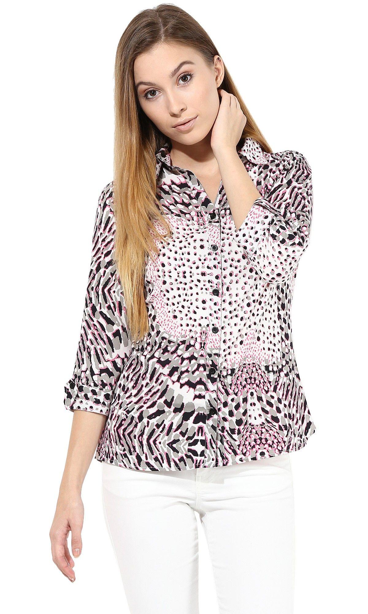 9838570a2a Cute Animal Print Shirt