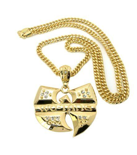 New iced out wu tang clan pendant w36 miami cuban link chain gold new iced out wu tang clan pendant w36 miami cuban link chain gold aloadofball Images