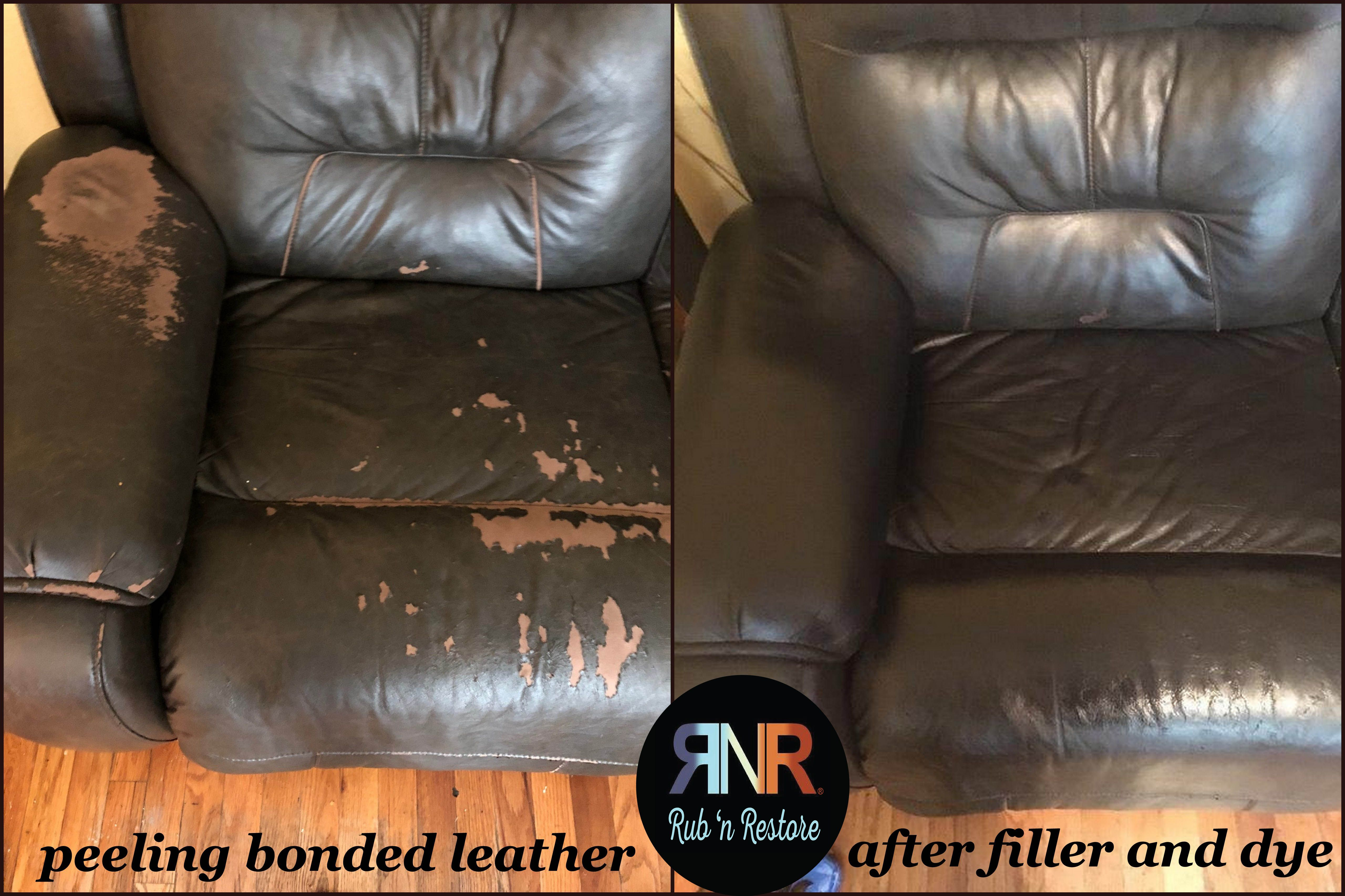 Leather Sofa Repair Near Me Bonded Leather Blues Rub N Restore Leather Furniture Fast