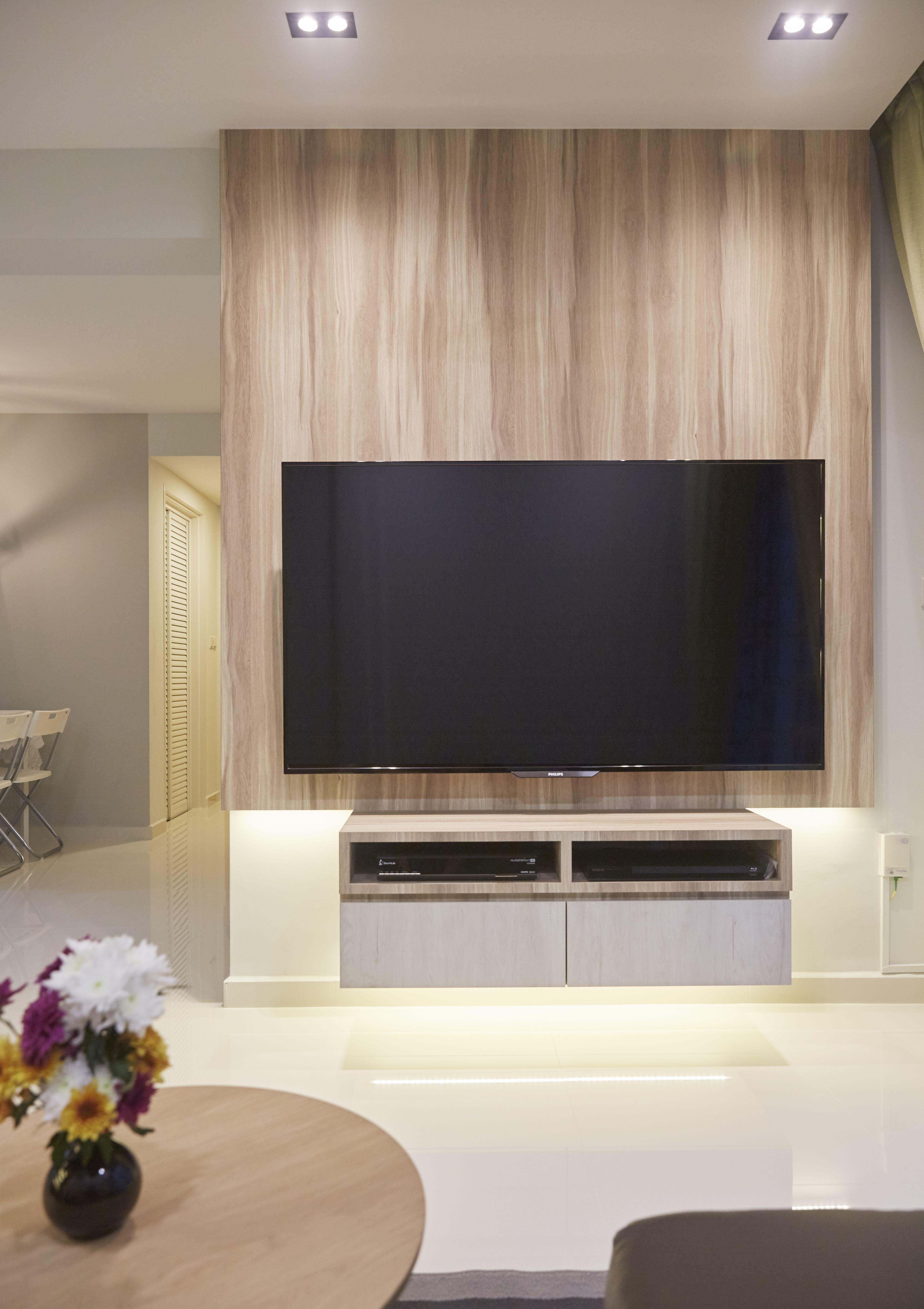 Featured Wall Singapore interior Design Carpenters