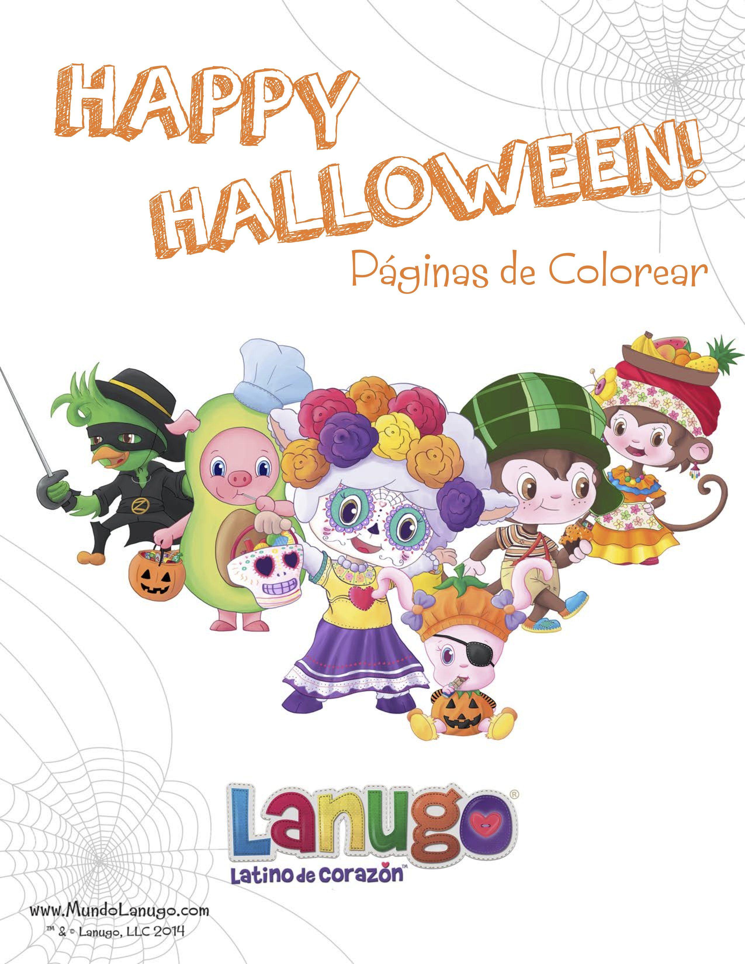 Porque muchos de nuestros Lanuguitos celebran Halloween y el Día de ...
