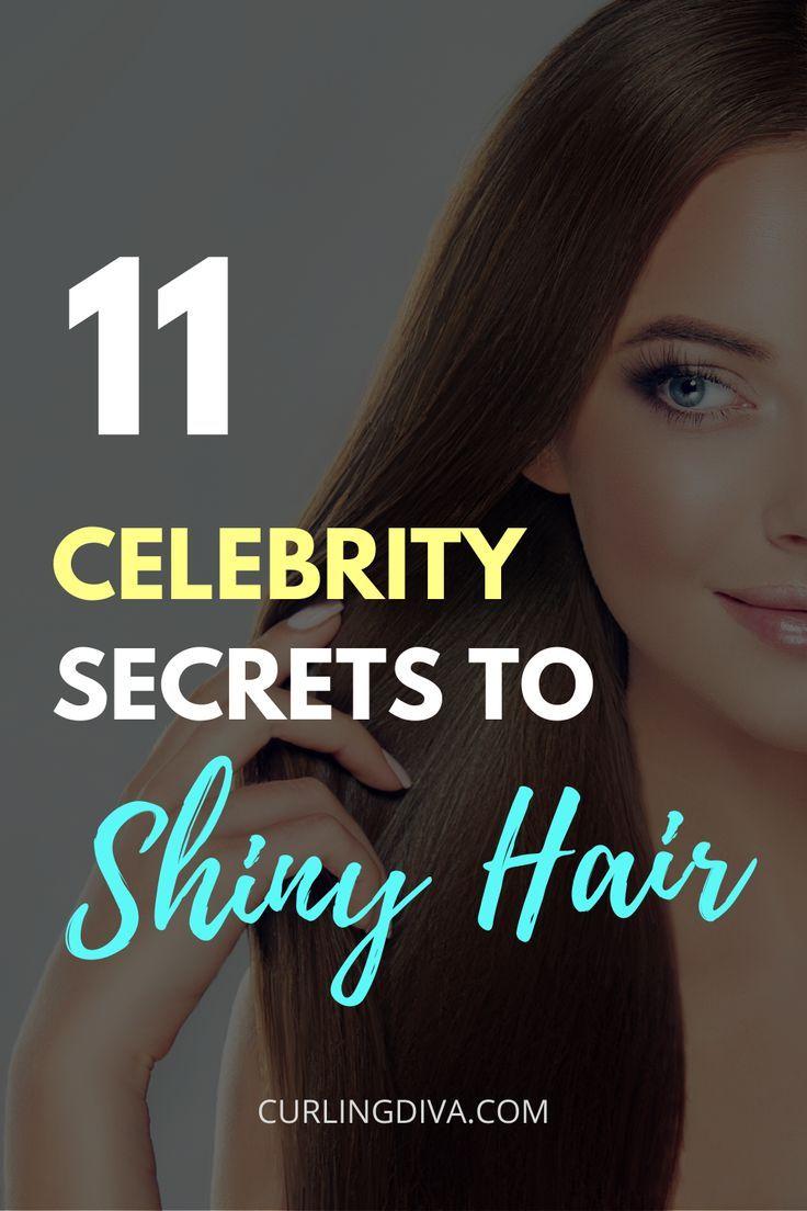 11 Celebrity Secrets To Shiny Hair