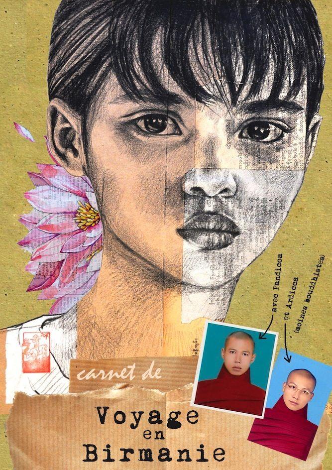 """Stephanie Ledoux - """"Carnet de voyage a Birmanie (Burma)"""""""