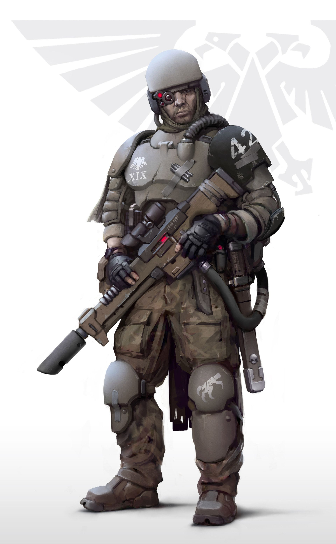 ArtStation - Imperial army Auxiliary, Igor Zhovtovsky ...