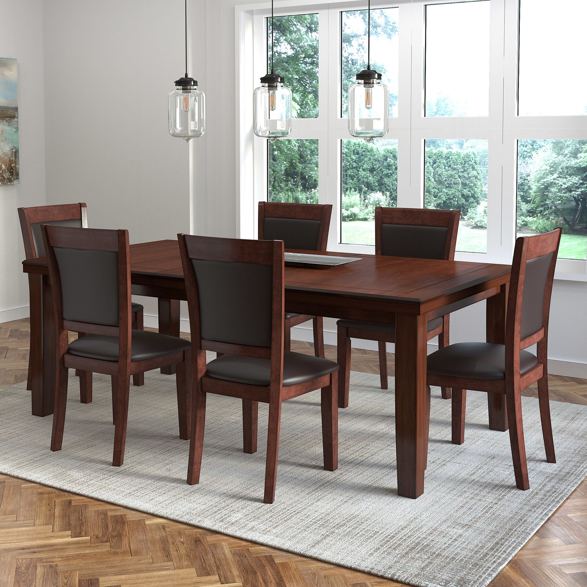 Edgewater 7 Piece Counter Height Dining Set