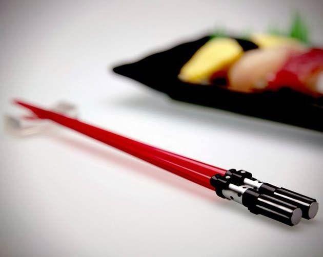 Star Wars STORMTROOPER Bamboo Chopsticks Dinner Kitchen Cutlery Tableware Gift