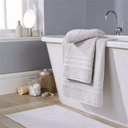 ACHICA | Hotel Living 800gsm Luxury Bath Sheet, Smoke Grey
