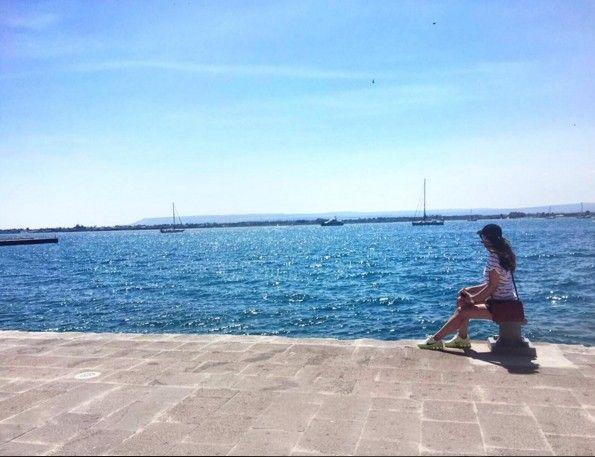 A glance at the amazing #Sicilian #sea