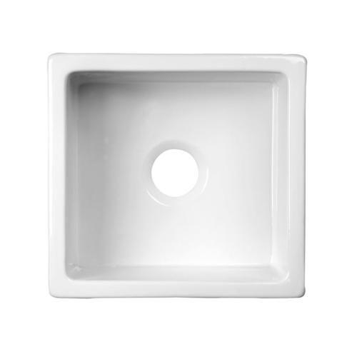 $35348  Barclay Silvia Large Fireclay Kitchen Sink White At Stunning Menards Kitchen Sinks Decorating Design