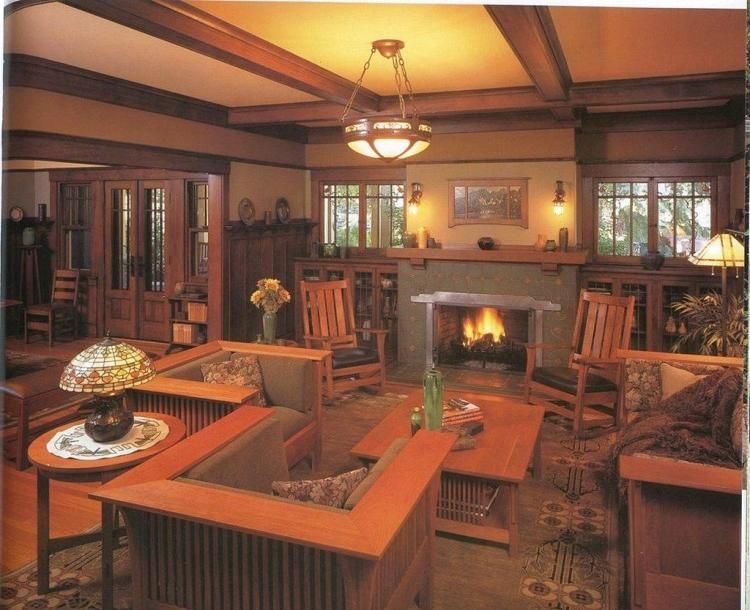 20 Gorgeous Craftsman Living Room Decor Ideas Craftsman Living