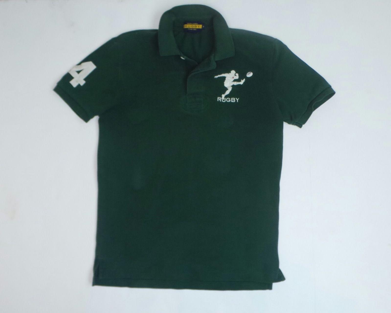 Polo Ralph Lauren Men's Regular Short Sleeve Sleeve 100% Cotton Solid  Casual Shirts | eBay