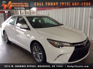 Toyota Of Muskogee >> 2015 Toyota Camry Se Sedan Cars Toyota Dealership