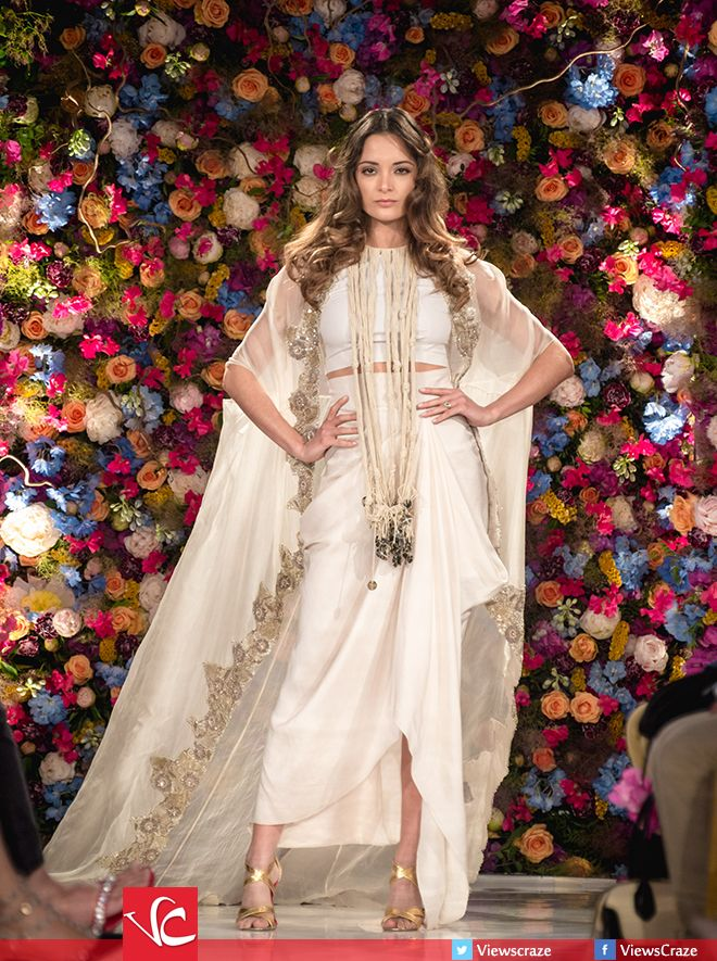 Anamika Khanna Collection at Fashion Parade 2015 Have a look at the  complete collection here: