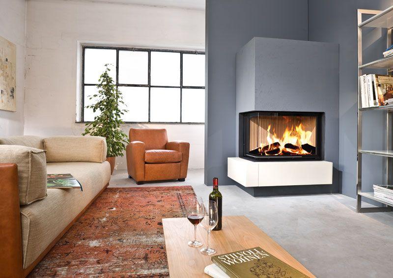 kamine und kamineins tze von brunner einbauschr nke pinterest kamin wohnzimmer kachelofen. Black Bedroom Furniture Sets. Home Design Ideas