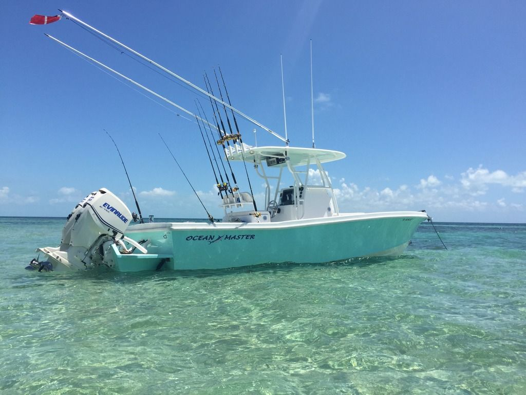 2008 27 Ocean Master Only 402 Hours Mint The Hull Truth