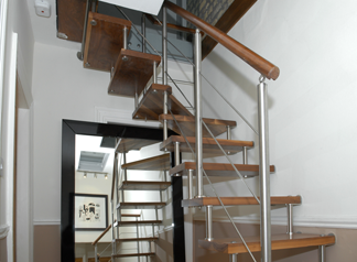 Sample Attic Staircase By Alert Engineering