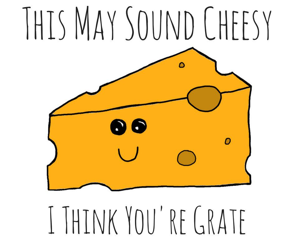 Cheese Pun Card Puns Play On Words Cheesy Queso By Skpink On Etsy Https Www Etsy Com Listing 619774125 Cheese Funny Food Puns Teacher Puns Funny Puns