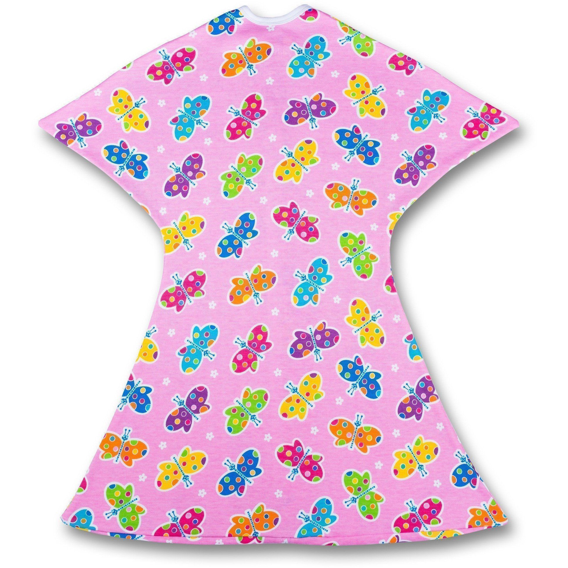 Baby wearable blanket with butterflies print  babywearableblanket   babywearableblankets 595c39118