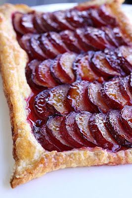 The Cooking Photographer: Puff Pastry Plum Tart