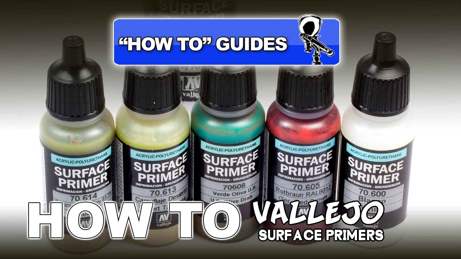 Vallejo Surface Primers Review How To Guide Vallejo Modeling Techniques Scale Models