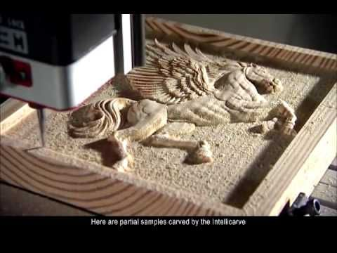 The Intellicarve Is An Automatic Carving Machine Which