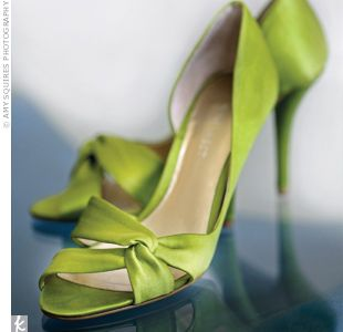 Green Wedding Shoes! Lovely! TheKnot.com