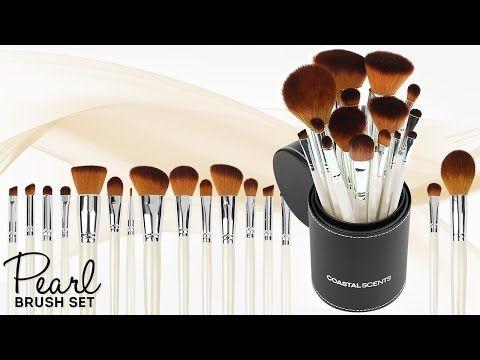 pearl makeup brush set  makeup brush set brush set