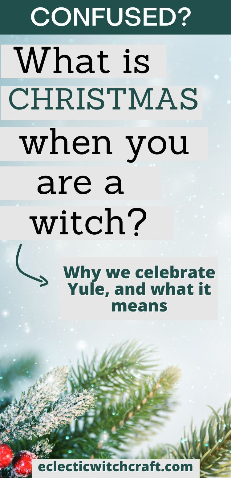 Wiccan sabbats: Why witches celebrate Yule instead of Christmas. Winter solstice traditions. Winter Christmas for occultists. #yule #christmas #witch #witchcraft #pagan #wicca