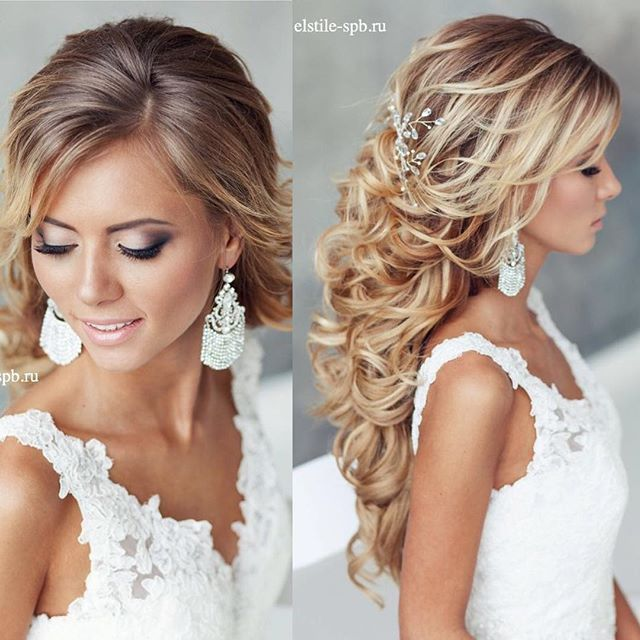 19++ Cheveux long mariage coiffure idees en 2021