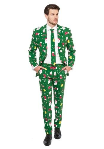 Men's Opposuits Santaboss Suit Funny Halloween Costumes, Elf Costume, Christmas  Costumes, Cool Costumes - Men's OppoSuits Santaboss Suit#OppoSuits, #Men, #Suit Abstract 3d
